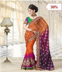 Gergotte Printed Sarees
