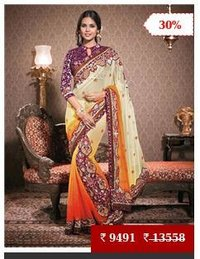Designer Wedding Bridal Saree