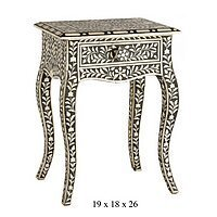 Bone Inlay Work Chairs