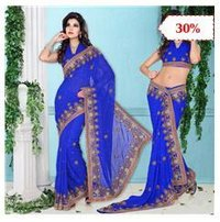 Silk Party Wear Sarees