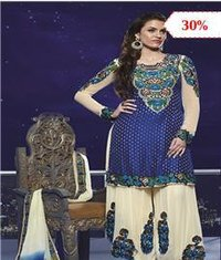 Zari Work Bridal Salwar Kameez