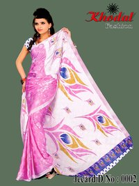 Jecard Fashionable Sarees