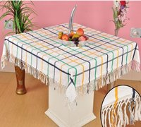 Fringes Table Cloth