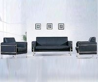 Elegant Office Waiting Area Sofa