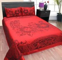 Cotton Jacquard Bed Sheet