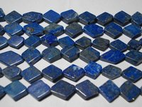 Natural Lapis Smooth Kite Shape