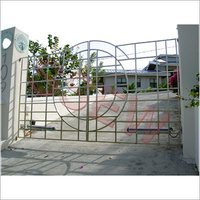 Stainless Steel Entry Gate