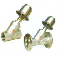 Angle Type On-Off Control Valve