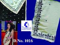 Net Fabric Saree