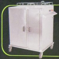 Hot Case Banquet Trolley