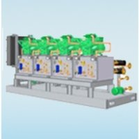 Ultra Low Temperature Chiller With Booster Package
