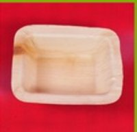 Palm Leaf Rectangle Tray