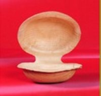 Palm Leaf Round Lip Soap Dish