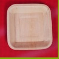 Areca Palm Leaf Square Plate (10 Inch)