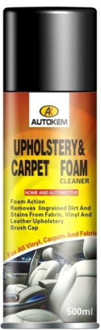 Upholstery And Carpet Foam Cleaner