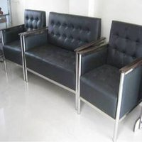 Steel Sofa Set