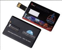 Credit Card Shaped USB Drive