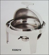 Round Roll Top Chafing Dish Set