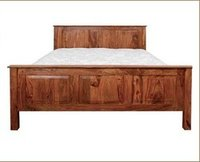 Wooden Designer Double Beds