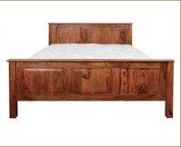 Wooden Designer Double Beds