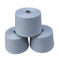 Grey Polyester Cotton Yarn