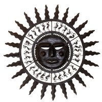 Decorative Wrought Iron Sun
