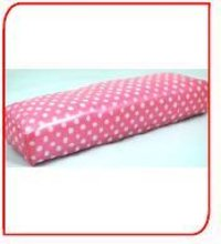 Arm Rest Skay Pink with White Balls