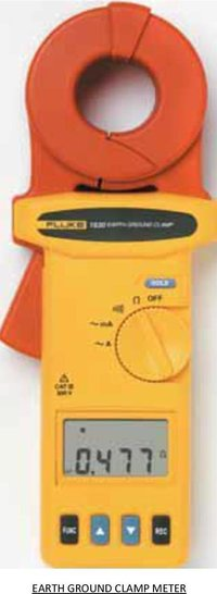 Digital Earth Ground Clamp Meter