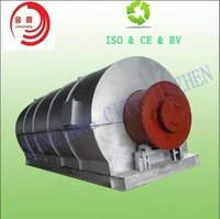 50%-55% Oil Yield Machine Tire Recycling Machine