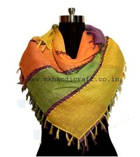 Multi-Color Square Scarf