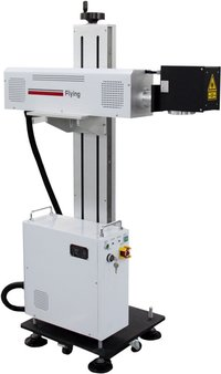 On Line Fiber Laser Marking Machine