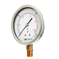 Ss Case Brass Pressure Gauges