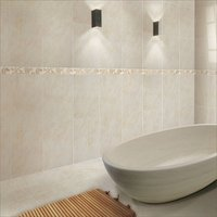 White Wall Tiles Bathroom