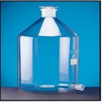 Aspirator Bottle With Side Outlet For Stopper