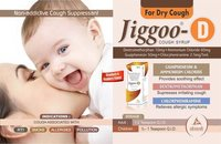 JIGGOO D COUGH SYRUP. 100 ML