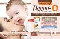 JIGGOO D COUGH SYRUP. 100 ML