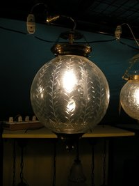 Designer Glass Carving Lamps