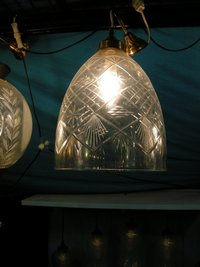 Glass Carving Designer Lamps