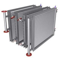 Finned Tube Oil Heat Exchanger