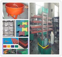 Rubber Tile Vulcanizing Press Machine