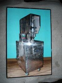 Semi Automatic Lak Cap Sealing Machine