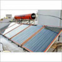 Plate Type Solar Water Heater