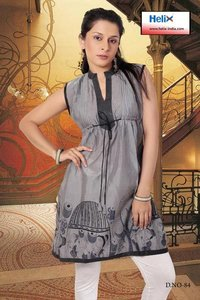 Women Sleeveless Kurti