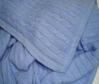 Best Quality Cable Knitt Baby Blanket