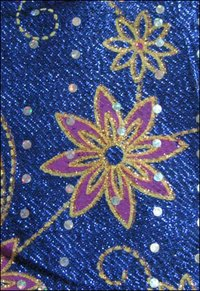 Embroidered Zari Fabrics