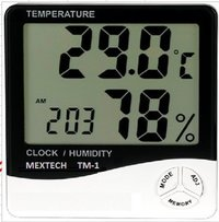 Thermo Hygro Clock Tm-1