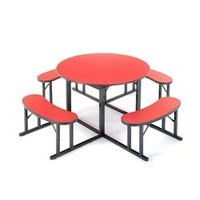 Round Shape Cafeteria Table
