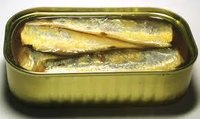 Canned And Frozen Sardines