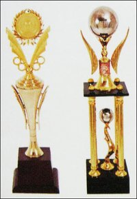 Cricket Metal Trophies