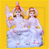 Shiva Parvati Statue